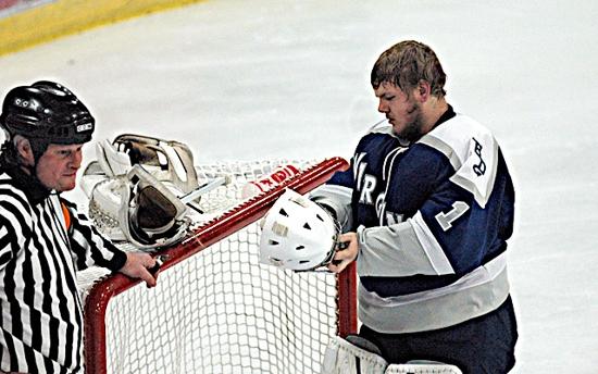 MN H.S.: Virginia/Mountain Iron-Buhl Senior Goalie Casey Myhre Not Playing Like A Rookie