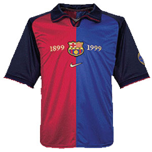 new arrival cde1b 5f5a9 barcelona jersey 2000