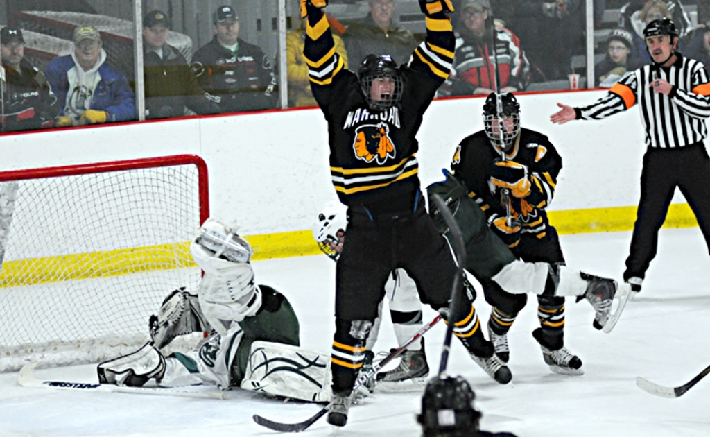 'The Game' Provides Tension And Streiff - Warroad Sweeps Roseau With 5-4 Overtime Thriller