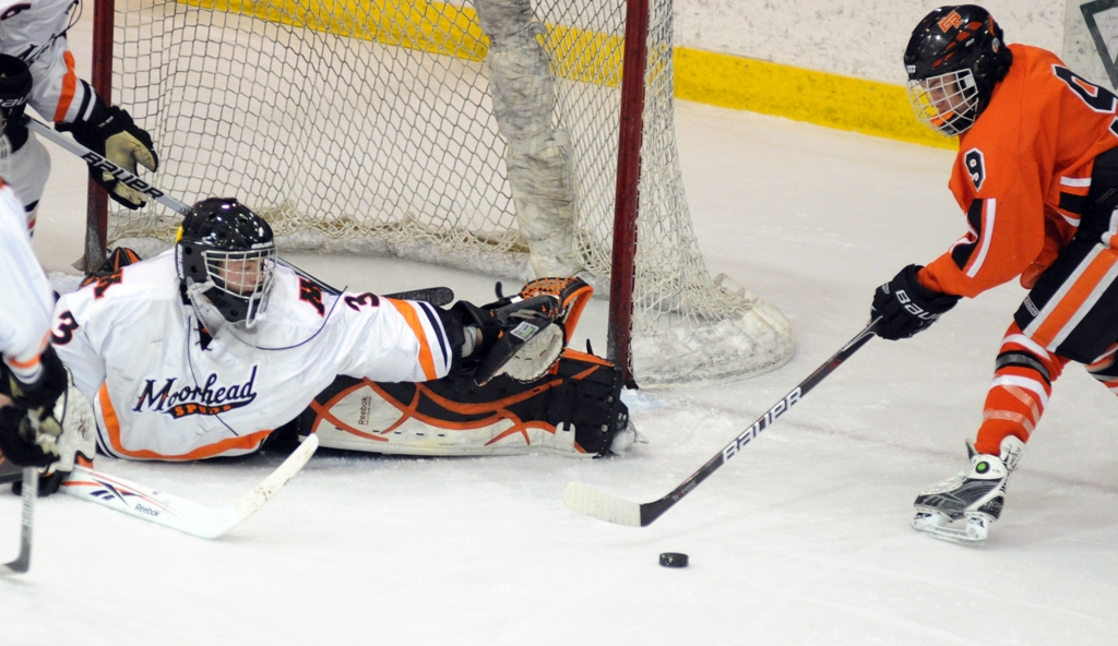 MN H.S.: Grand Rapids Works Overtime - Peterson Scores In Extra Session To Rally Thunderhawks Past Moorhead