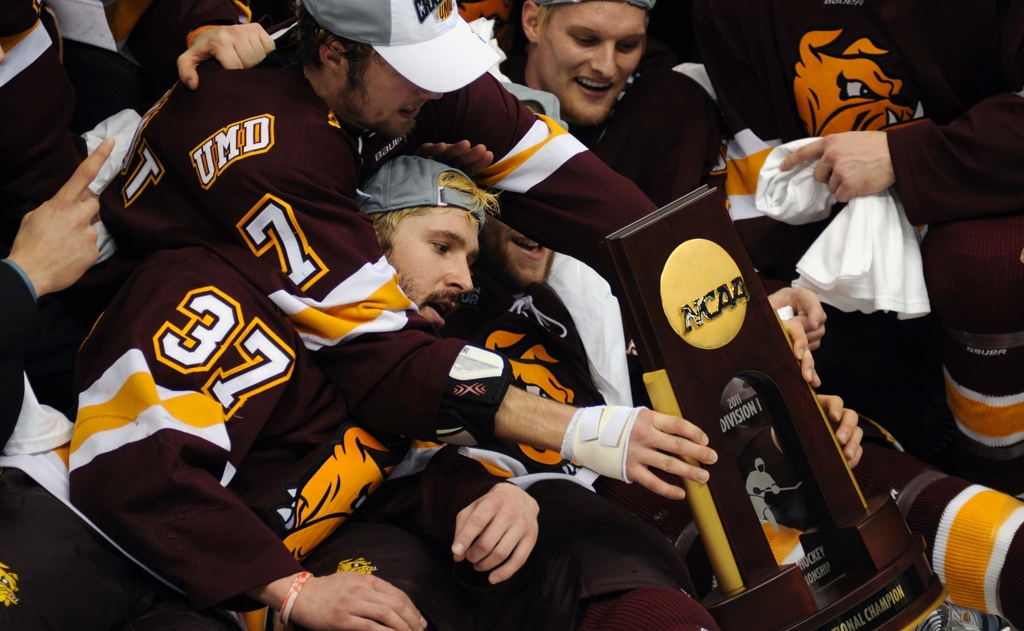 Home Grown Heroes: Hermantown's Schmidt And Duluth East's Tardy Shine In UMD's Finest Moment