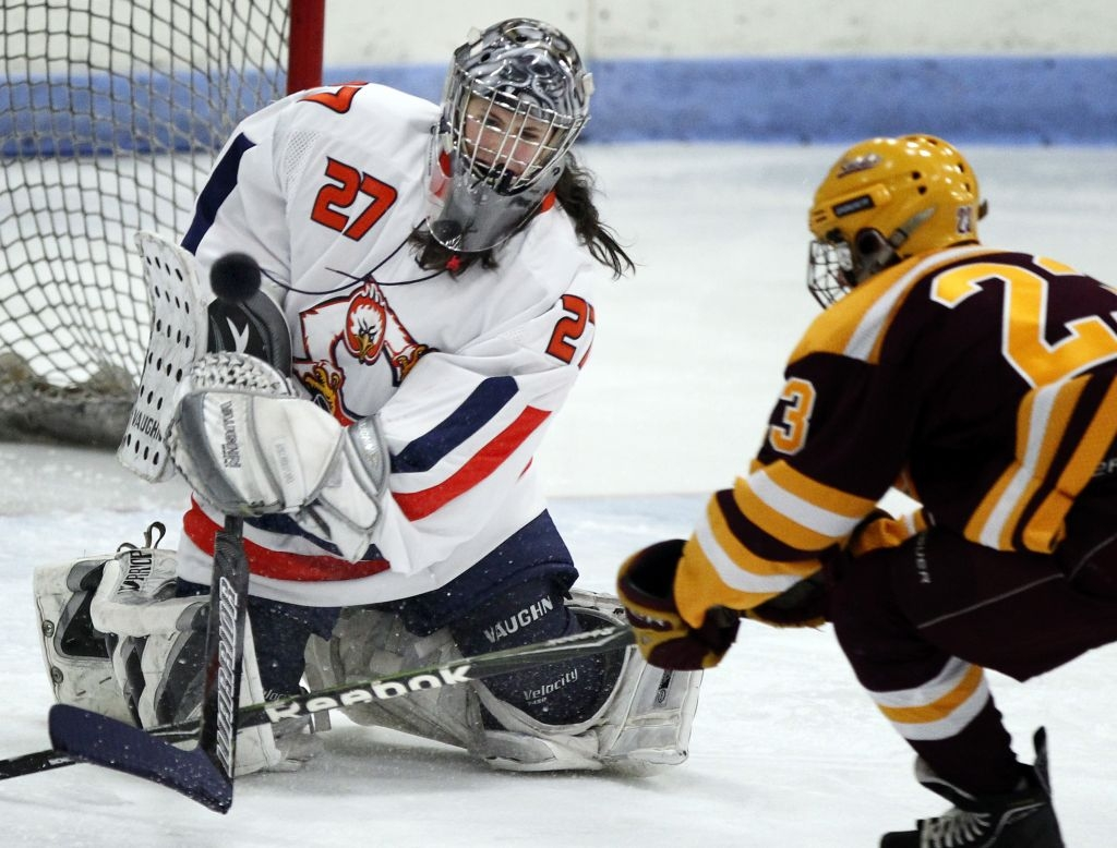 MN H.S.: Meet Angel. She Plays Goalie For Cooper, Boys
