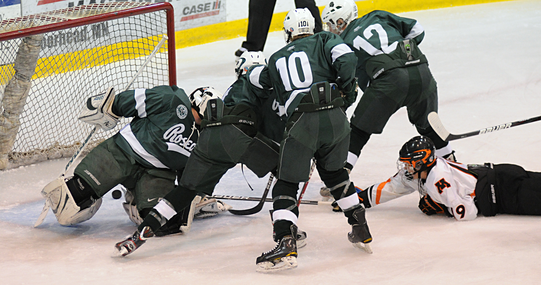MN H.S.: Spuds Shrug Off Roseau - Tony Uglem Scores Game-winner In Home OT Thriller