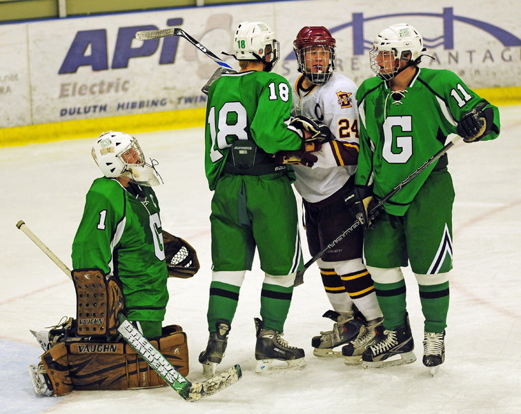 MN H.S.: Greenway Goaltender Erikur Arnason's 73-save Performance One Of Greatest In State History